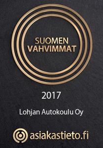 Suomen Vahvimmat 2017 - Lohjan Autokoulu Oy